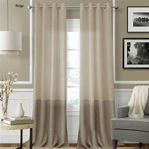Melody semi sheer grommet curtain panels for Grommet curtains with sheers