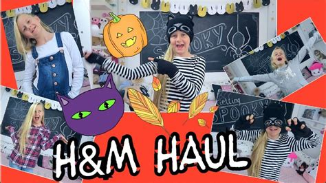 hm herbst haul mit halloween touch coole maedchen zoepfe