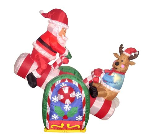 Inflatable Outdoor Decorations  Christmas Holiday Central