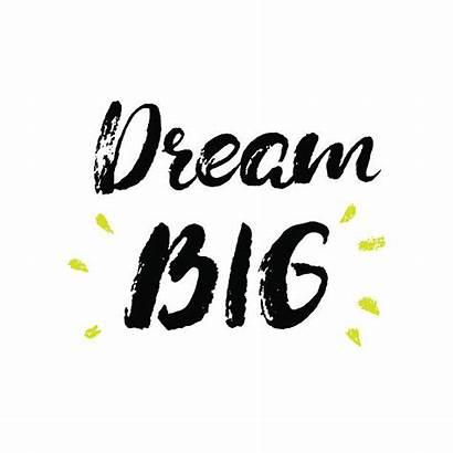 Dream Vector Boho Inspirational Motivatio Phrase Clip