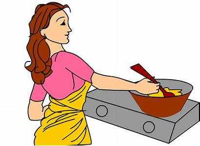 Cooking Clipart Woman Cooked Clipartpanda Steak Terms