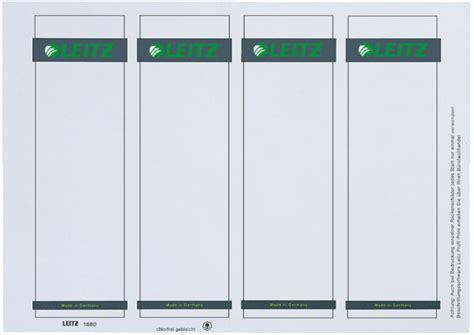 bureau fournitures leitz 80168085 à 20 02 leitz etiquette à insérer pour