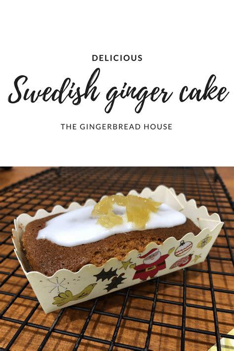 swedish ginger cake recipe  gingerbread housecouk