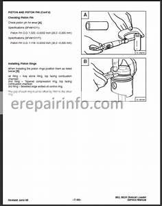 Bobcat 863 Service Repair Manual Skid Steer Loader 6724799