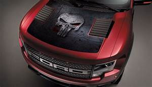 product ford raptor f 150 hood graphics punisher skull With kitchen cabinets lowes with ford raptor stickers