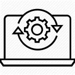 Data Processing Icon Icons Management Services Sync