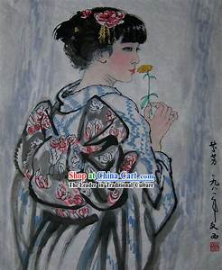 Traditional Geisha Painting | www.pixshark.com - Images ...