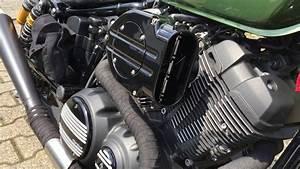 Hypercharger Auf Einer Yamaha Xv950r