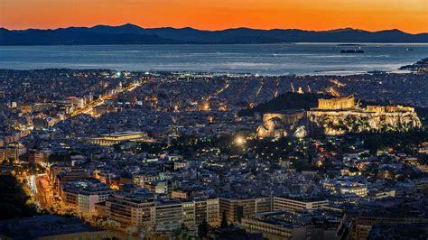 Athens Night Bing Wallpaper Download