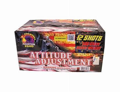 Attitude Adjustment Gram Fireworks Repeaters Shot Aerial