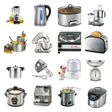 Kitchen Collections Appliances Small by Vocabulary To Describe Small Kitchen Appliances And