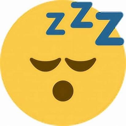 Clipart Emoji Sleepy Sleeping Sleep Tired Transparent