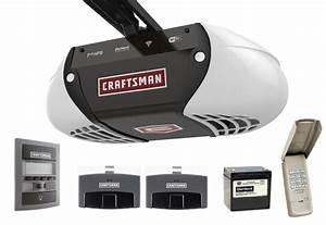 Craftsman 1 25 Hp Belt Drive Smart Garage Door Opener