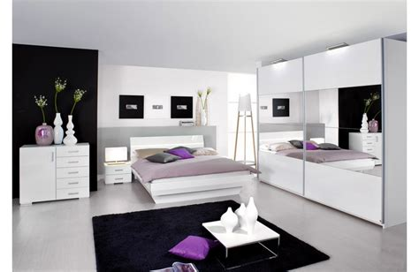 chambre meuble blanc armoire de chambre laque blanc