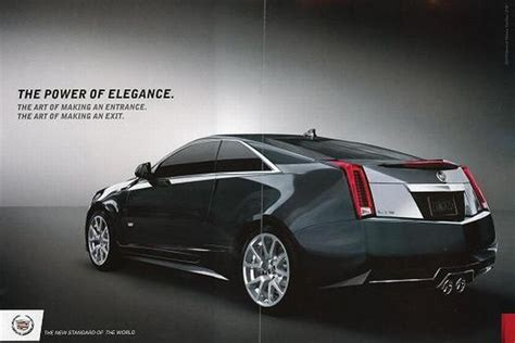 Cadillac Releases Four Page Ads In Vanity Fair And W To