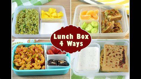 indian lunch box ideas part  kids lunch box recipes