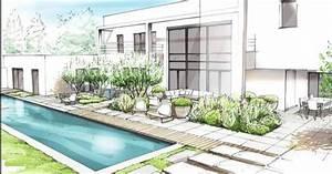 Dessin De Piscine : piscine architecture d 39 int rieur pinterest piscines ~ Melissatoandfro.com Idées de Décoration