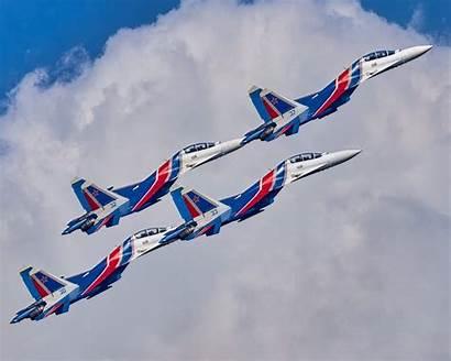 Russian Knights Aerobatic Team 30sm Maks Desktop