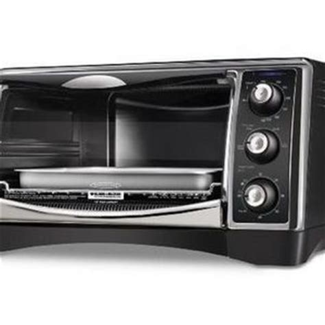 Black Decker Toaster Oven Reviews - black decker 6 slice convection toaster oven cto4400b