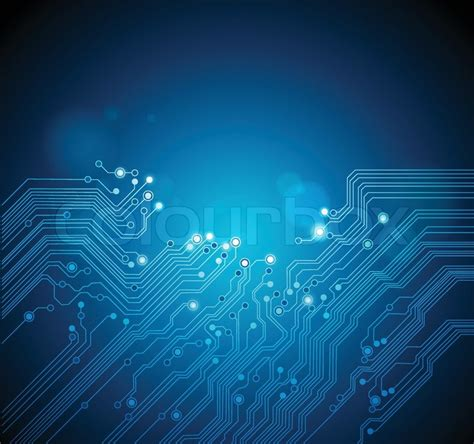 circuit board abstract technology background stock