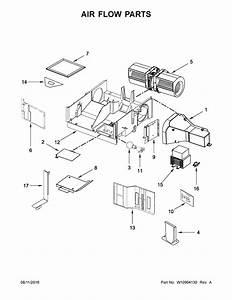 Ikea Imh205fs0 Microwave  Hood Combo Parts