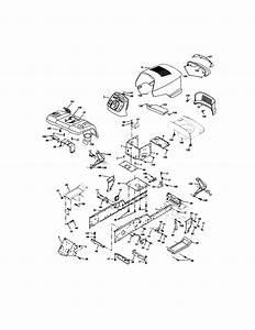 Sears Model  917 275970 Tractor Wiring Diagram