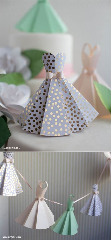 paper dress diy wedding decorations make paper diy
