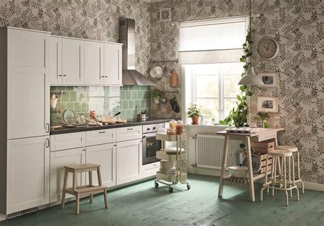 papier peint de cuisine cuisine ikea nos modèles de cuisines préférés