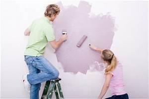 Raufaser Zum Streichen : zimmer streichen farbe richtig mischen ~ Lizthompson.info Haus und Dekorationen