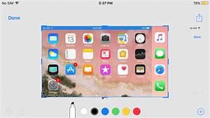 iOS 11 makes screenshots great again