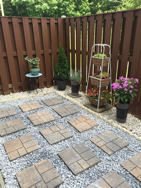 ensure  success   diy paver patio project
