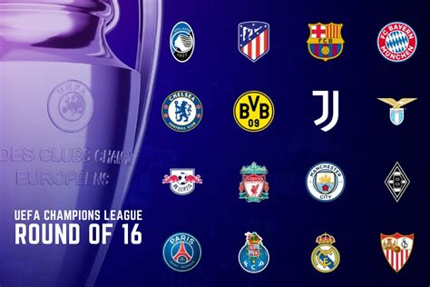 Ucl Round Of 16 Draw / Champions League Round Of 16 Draw ...