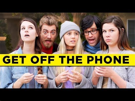 Get Off Your Phone Meme - get off the phone rhett link multimedia english videos