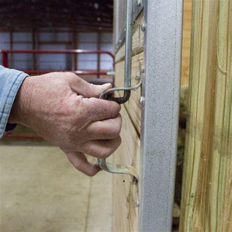 door horse latch stall system stalls hardware sliding kit rammfence