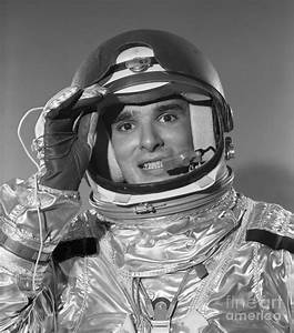 Portrait Of Smiling Astronaut Photograph by H. Armstrong ...