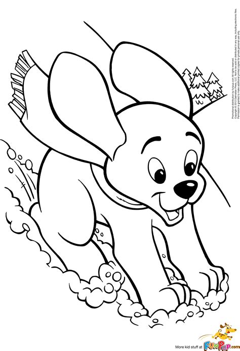 cartoon puppy coloring pages getcoloringpagescom