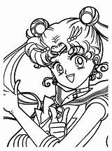 Sailor Moon Coloring Pages Sailormoon Animated Printable Clipart Sheets Books Colouring Series Anime Clip Drawing Uploaded Cliparts Card Diapositive Precedente sketch template