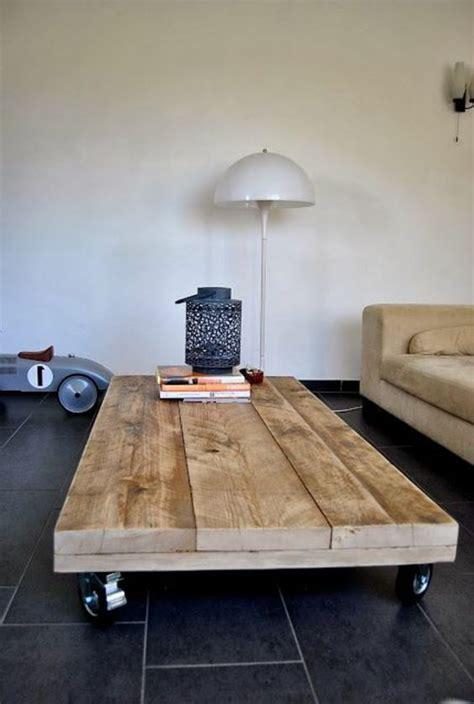 fabriquer sa table de cuisine table basse en palette maj 2018 50 idées originales et