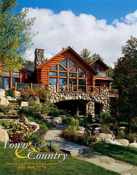 Log Cottage Plans Custom Cedar Log Homes Luxury Cottage Floor Plans
