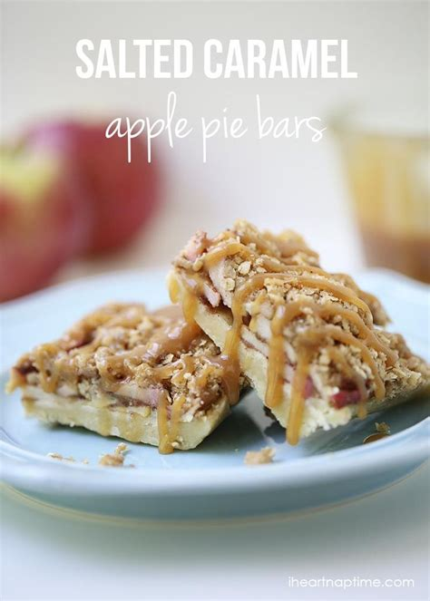 Salted Caramel Apple Pie by Caramel Apple Pie Bars Salted Caramels Caramel Apples
