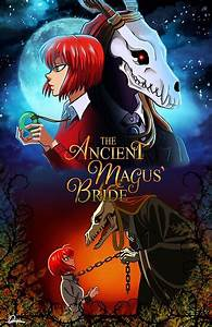 Duvet Size Chart Canada Quot The Ancient Magus 39 Bride Quot Posters By Danydarkly Redbubble