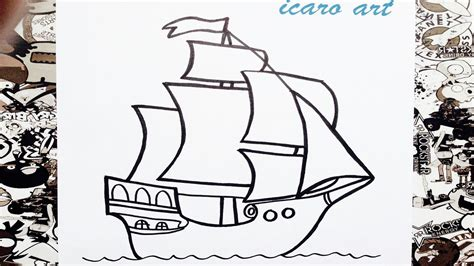 Barcos Para Colorear Faciles by Como Dibujar Un Barco Paso A Paso How To Draw A Boat