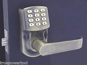 Keyless Door Lock Latch Entry Set