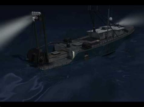 Destination Crab Boat What Happened by Trial Graphics Arctic Sinking