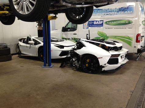 crashed lamborghini for sale wrecked lamborghini aventador for sale at 125 000 gtspirit