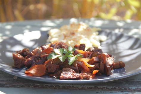 cuisine vegetale carbonnade flamande au seitan cuisine végétale et gourmande