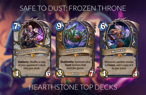 Paladin Hearthstone Deck Frozen Throne by 100 Paladin Hearthstone Deck Frozen Throne 28