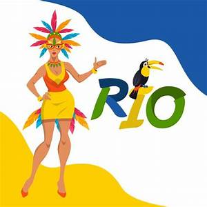 Rio Carnival Vector Illustration Concept - Download Free ...