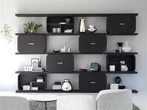 Feature Wall Design Ideas Bedroom Wall Units Shelving
