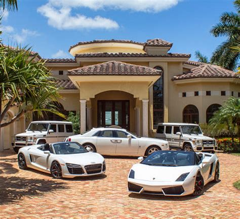 mansions cars homes   rich